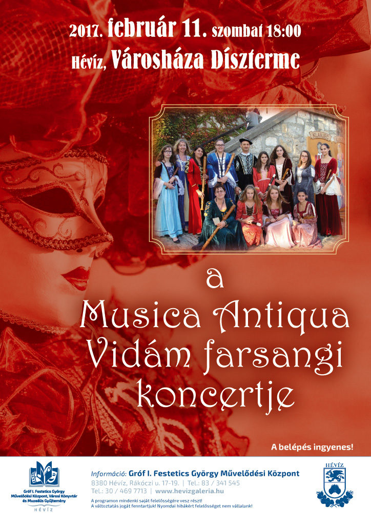 Musica Antiqua Vidám farsangi koncertje